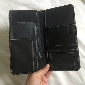 Handbags - Brand New Black Leather Travel Wallet